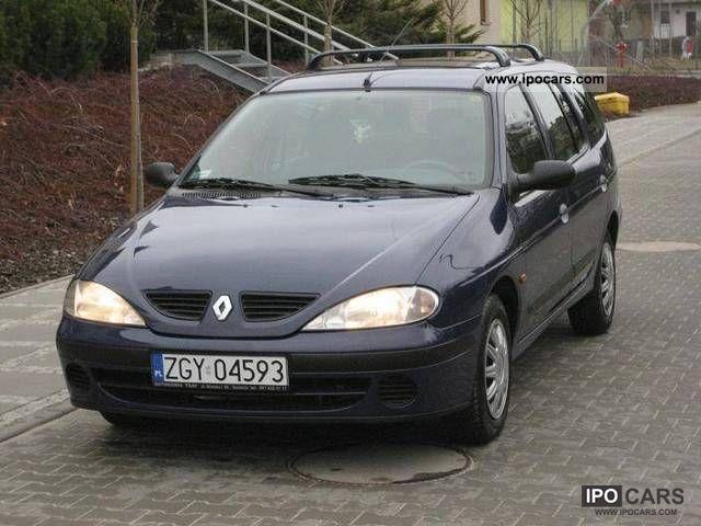 2001 renault air lift megane 1 4 16v show polska car photo and specs. Black Bedroom Furniture Sets. Home Design Ideas