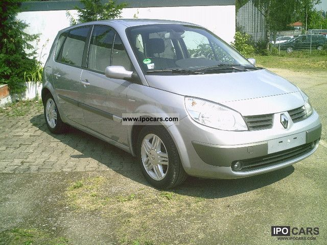 2005 renault scenic 1 6 16v car photo and specs. Black Bedroom Furniture Sets. Home Design Ideas