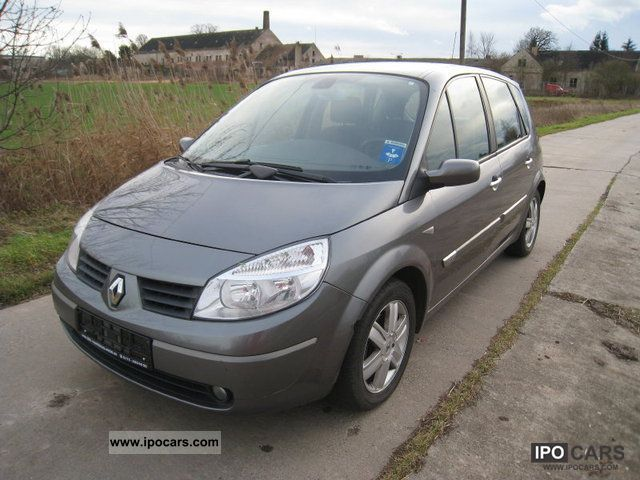 2003 renault scenic 1 6 16v air hu car photo and specs. Black Bedroom Furniture Sets. Home Design Ideas
