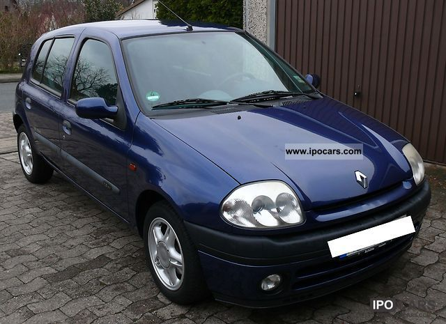 2001 renault clio 1 2 16v techline car photo and specs. Black Bedroom Furniture Sets. Home Design Ideas