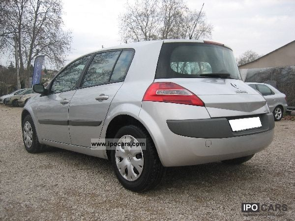 2007 renault megane ii 1 5 dci 105 privilege car photo and specs. Black Bedroom Furniture Sets. Home Design Ideas