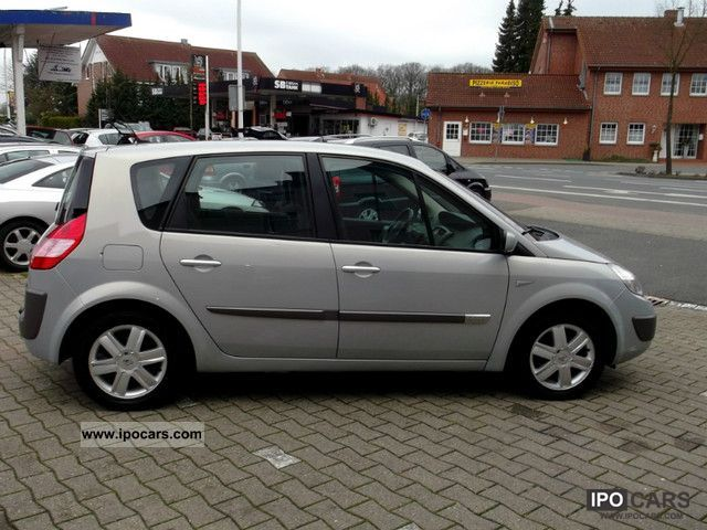 2004 Renault Scenic 1 6 16v Car Photo And Specs