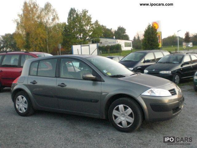 2004 Renault Megane 1 5 Dci Authentique New Tuv Car