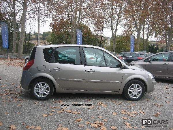 2007 renault scenic ii 1 9 dci 130 jade car photo and specs. Black Bedroom Furniture Sets. Home Design Ideas