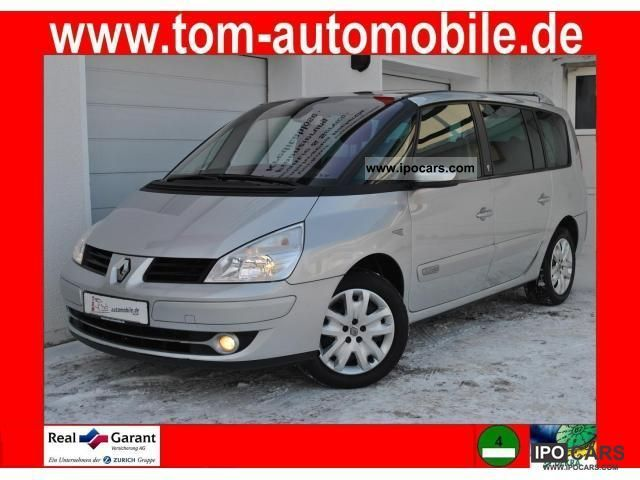 2007 Renault  Grand Espace 2.0 dCi FAP/Multimedia-DVD/7-Sitzer Van / Minibus Used vehicle photo
