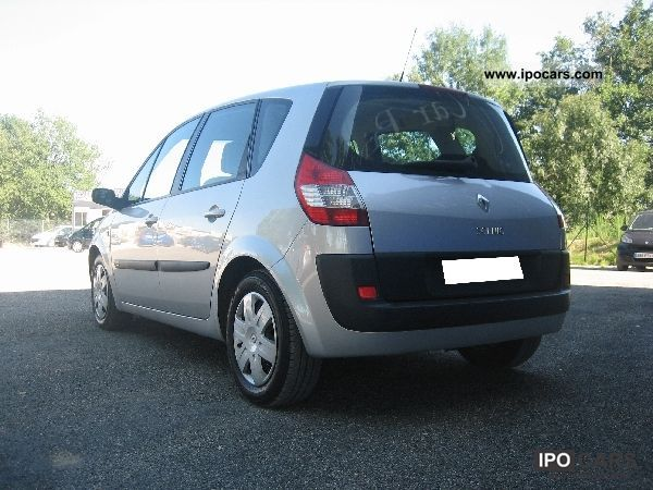 2005 renault scenic scenic ii 1 9 dci 120 confort exp. Black Bedroom Furniture Sets. Home Design Ideas