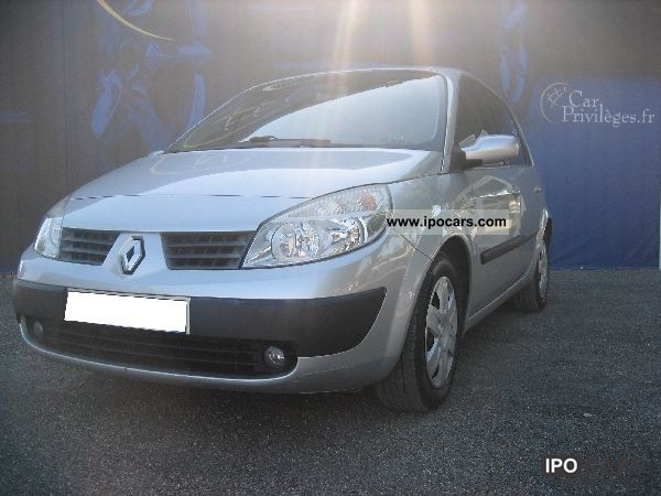 2005 renault scenic scenic ii 1 9 dci 120 confort exp car photo and specs. Black Bedroom Furniture Sets. Home Design Ideas