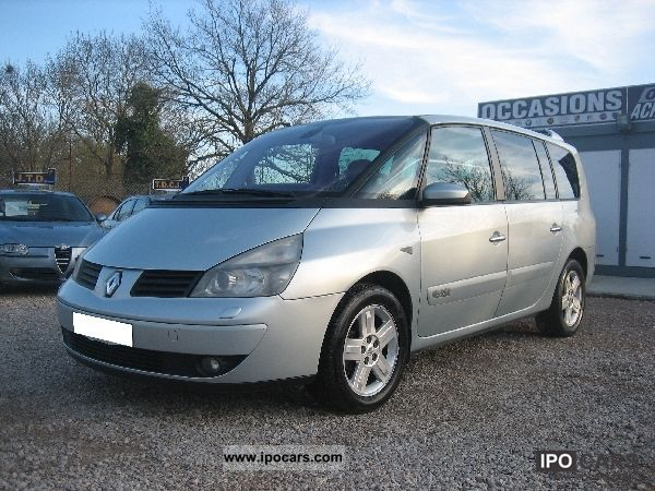 2003 renault espace iv 3 0 dci 180 initial car photo and specs. Black Bedroom Furniture Sets. Home Design Ideas