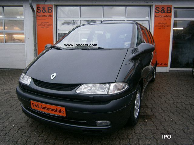 Renault  2.0 Grand Espace The Race 7-Sitzer/leder 2001 Race Cars photo