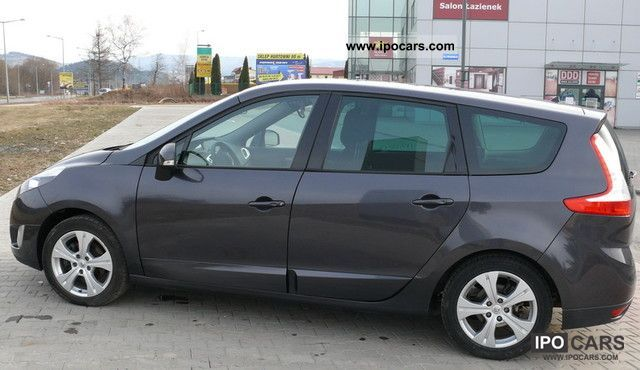 2009 renault grand scenic car photo and specs. Black Bedroom Furniture Sets. Home Design Ideas