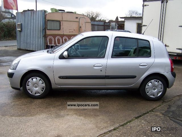 2005 renault clio 1 4 16v privilege automatic mot till 02 14 car photo and specs. Black Bedroom Furniture Sets. Home Design Ideas
