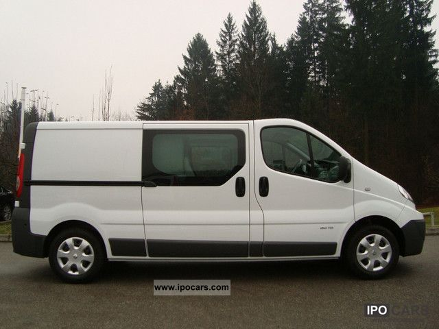 2011 renault trafic 2 0 dci 115 l2h1 doppelk climate. Black Bedroom Furniture Sets. Home Design Ideas