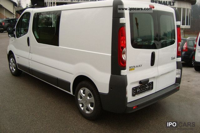 2011 renault trafic 2 0 dci 115 l2h1 doppelk climate seats 6 car photo and specs. Black Bedroom Furniture Sets. Home Design Ideas