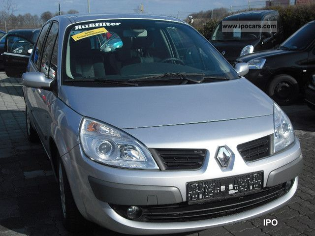 2007 renault scenic 1 9 dci avantage car photo and specs. Black Bedroom Furniture Sets. Home Design Ideas