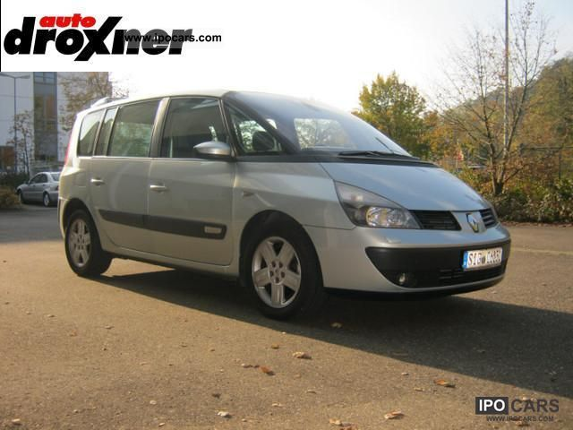 2003 renault espace 2 2 dci privilege car photo and specs. Black Bedroom Furniture Sets. Home Design Ideas