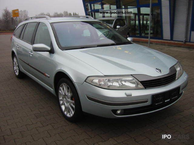2002 Renault Laguna 2 0 Initial Xenon Leather Car
