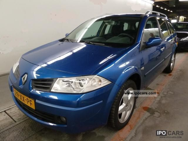 2007 Renault  Megane 1.5dCi Grand Tour + PANORAMA + ALU + + KLG KLIMAAU Estate Car Used vehicle photo