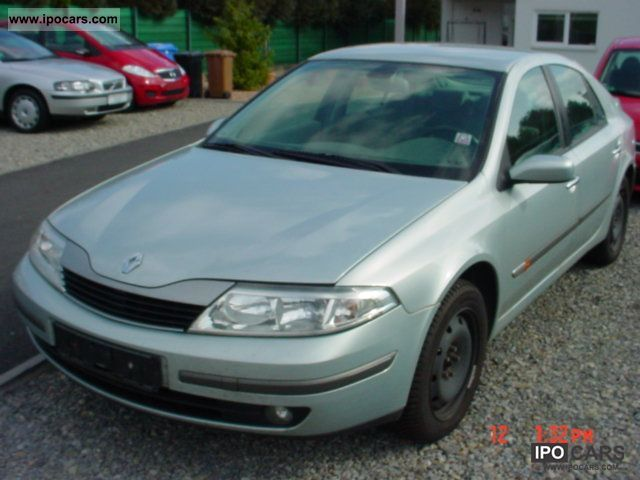 2002 Renault  Laguna 1.8 Privilege ~ EURO 4 Limousine Used vehicle photo