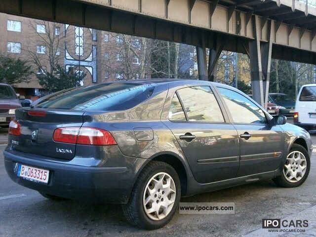 Laguna 2 2001 2001 Renault Laguna 1.8