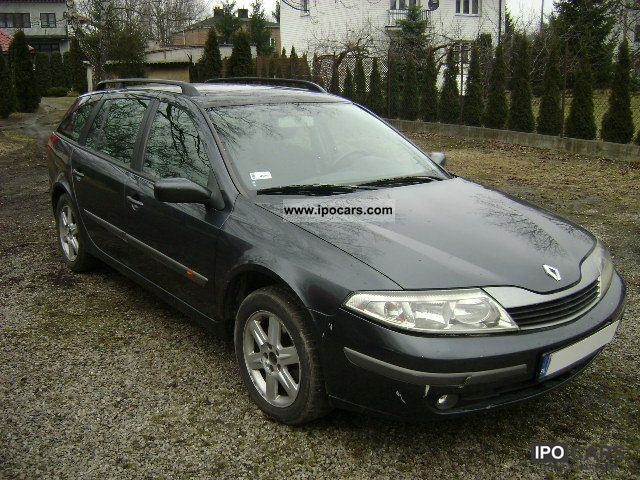 2001 renault laguna 1 9 diesel air okazja car photo and specs. Black Bedroom Furniture Sets. Home Design Ideas