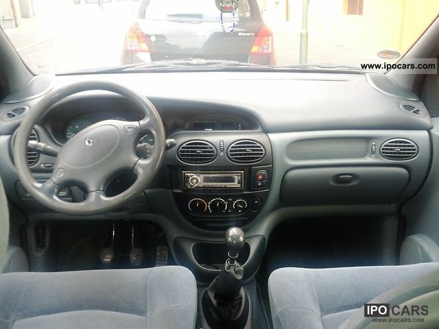 1996 renault megane scenic 1 6 rt car photo and specs. Black Bedroom Furniture Sets. Home Design Ideas