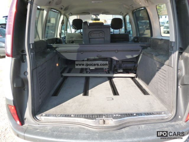 2006 renault grand espace 2 0 dci sport edition car photo and specs. Black Bedroom Furniture Sets. Home Design Ideas