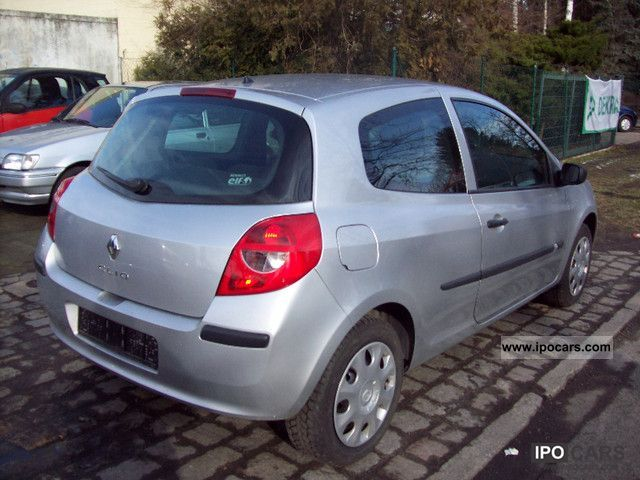 2008 renault clio 1 5 dci authentique only 34 000 km car photo and specs. Black Bedroom Furniture Sets. Home Design Ideas