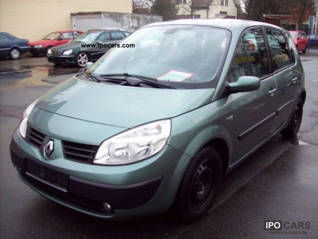 2003 renault scenic expression 1 6 16v confort car photo and specs. Black Bedroom Furniture Sets. Home Design Ideas