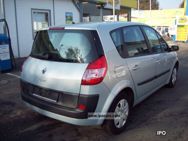 2004 renault scenic expression 1 4 16v confort air car photo and specs. Black Bedroom Furniture Sets. Home Design Ideas