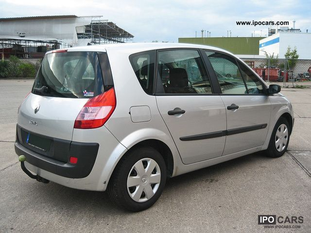 2004 renault scenic 1 5 dci authentique car photo and specs. Black Bedroom Furniture Sets. Home Design Ideas