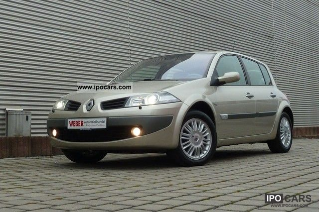 2006 Renault  Megane 1.9 dCi Privilege * 1.HAND * RETIRED * VEHICLE Limousine Used vehicle photo