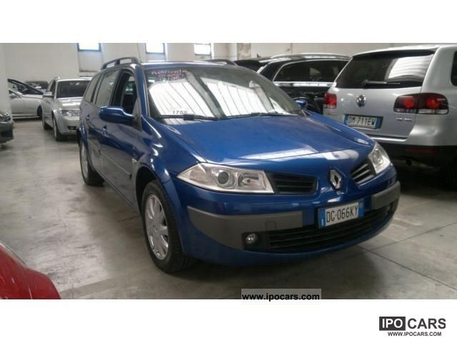 2007 Renault  Megane 1.5 dCi Dynamique Grand Tour Estate Car Used vehicle photo