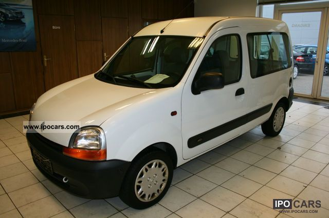 2002 renault kangoo 1 5 dci authentique t v new car photo and specs. Black Bedroom Furniture Sets. Home Design Ideas