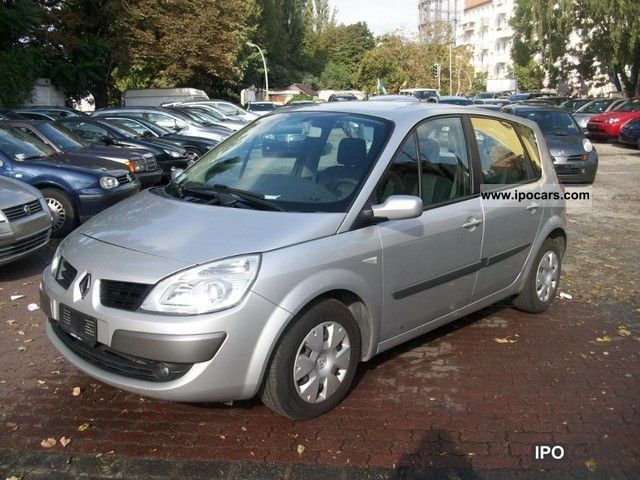 2007 renault scenic 1 5 dci car photo and specs. Black Bedroom Furniture Sets. Home Design Ideas