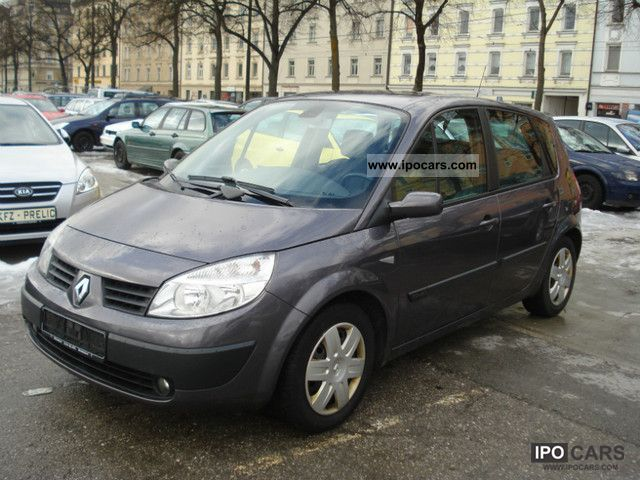2005 renault scenic 1 9 dci 131 hp 4 car photo and specs. Black Bedroom Furniture Sets. Home Design Ideas