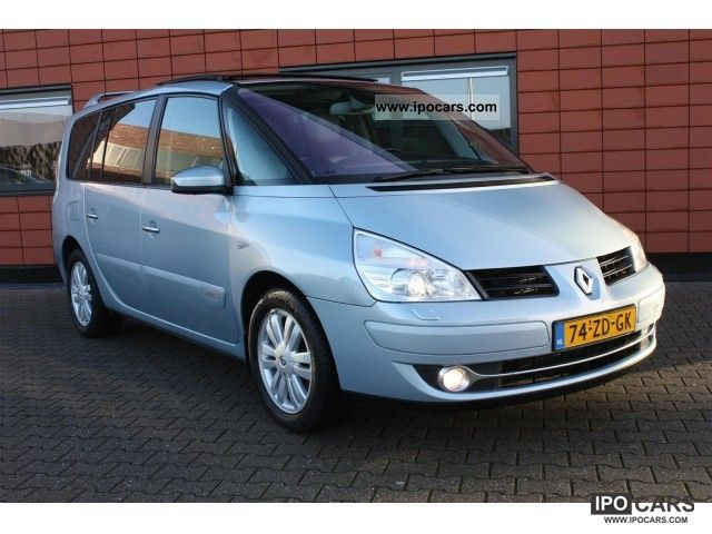 2008 renault grand espace 2 0 turbo automaat initial car. Black Bedroom Furniture Sets. Home Design Ideas