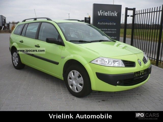 2007 Renault  Megane 1.5 dCi Grand Tour alarm climate net € 4,410 Estate Car Used vehicle photo