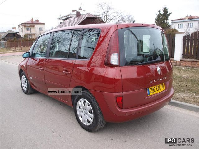 2007 renault espace 2 0 dci expression 130km car photo and specs. Black Bedroom Furniture Sets. Home Design Ideas
