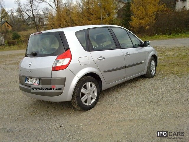 2004 renault scenic car photo and specs. Black Bedroom Furniture Sets. Home Design Ideas