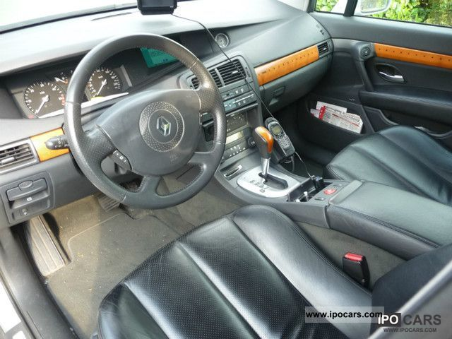 2003 renault vel satis 3 0 dci privilege car photo and specs. Black Bedroom Furniture Sets. Home Design Ideas