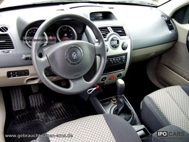 Renault Megane 2003 Interior 2003 Renault Megane 1 5