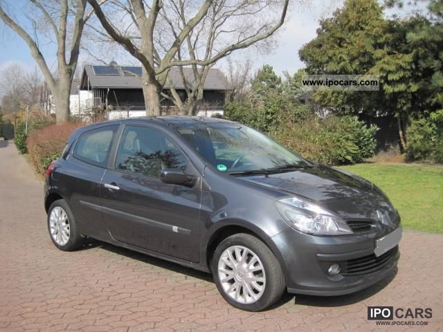 2006 renault clio 1 6 16v dynamique esp edition car photo and specs. Black Bedroom Furniture Sets. Home Design Ideas