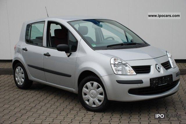 2007 Renault  Modus 1.2 16V 47 000 KM Cite climate El.Fenster Van / Minibus Used vehicle photo