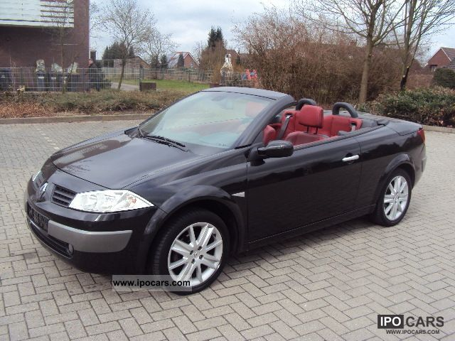 2004 renault megane 2 0 turbo cabriolet leather 118 000. Black Bedroom Furniture Sets. Home Design Ideas