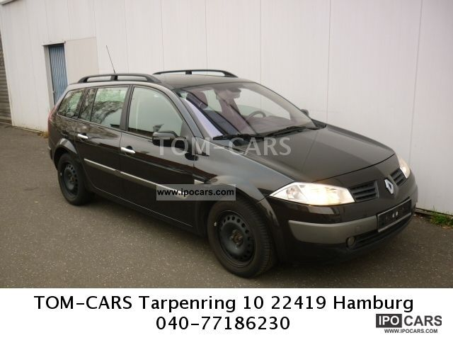 2004 Renault  Megane Grand Tour 2.0 incl Winterrreifen Tüv 2014 Estate Car Used vehicle photo