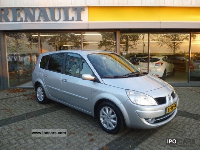 Renault  Grand Scenic 2.0 16v Tech Line NAVI LPG G3 2007 Liquefied Petroleum Gas Cars (LPG, GPL, propane) photo