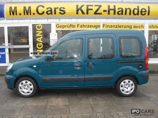 2007 Renault  Kangoo 1.6 16V Automatic air conditioning ** ** Van / Minibus Used vehicle photo