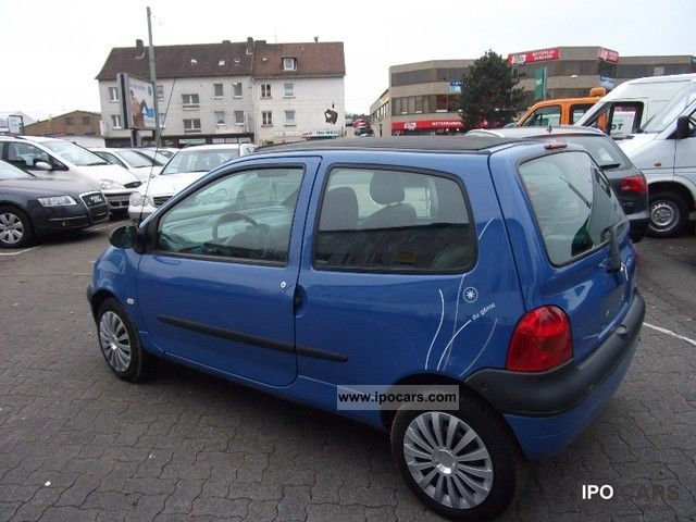 2006 renault twingo 1 2 faltschiebedach km 48000 servo car photo and specs. Black Bedroom Furniture Sets. Home Design Ideas