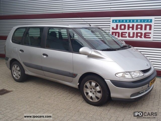 2002 renault espace authentique 2 2 dci 129pk car photo and specs. Black Bedroom Furniture Sets. Home Design Ideas