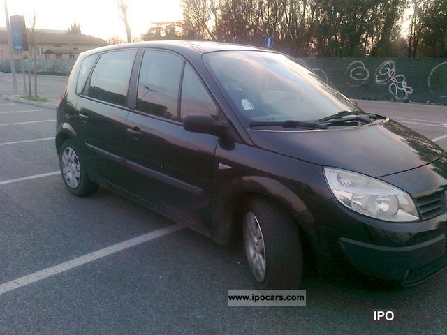 2005 renault scenic car photo and specs. Black Bedroom Furniture Sets. Home Design Ideas